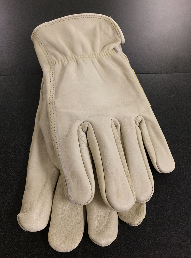 Cow Grain Leather Gloves height=