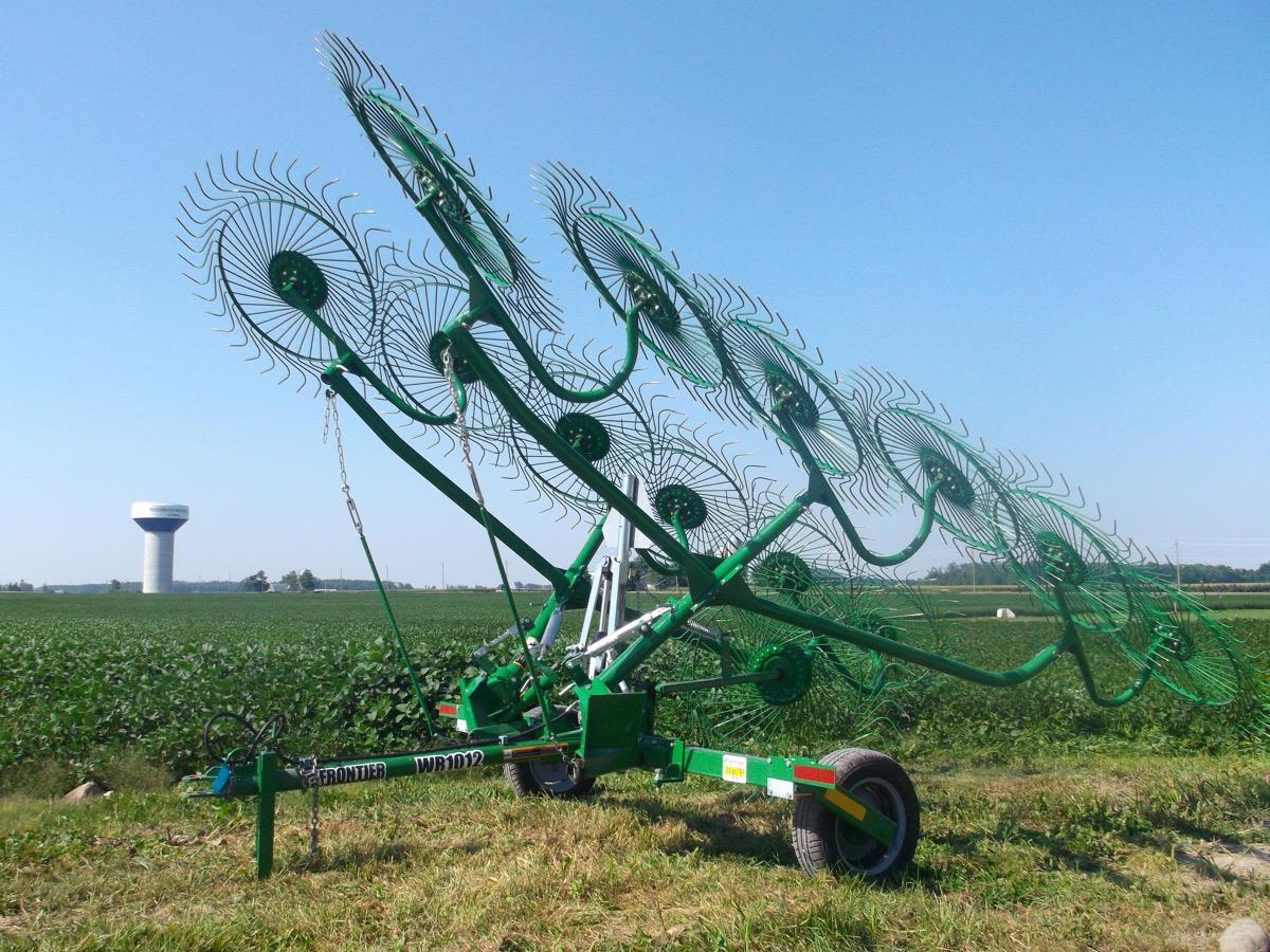 12 Wheel V-rakes