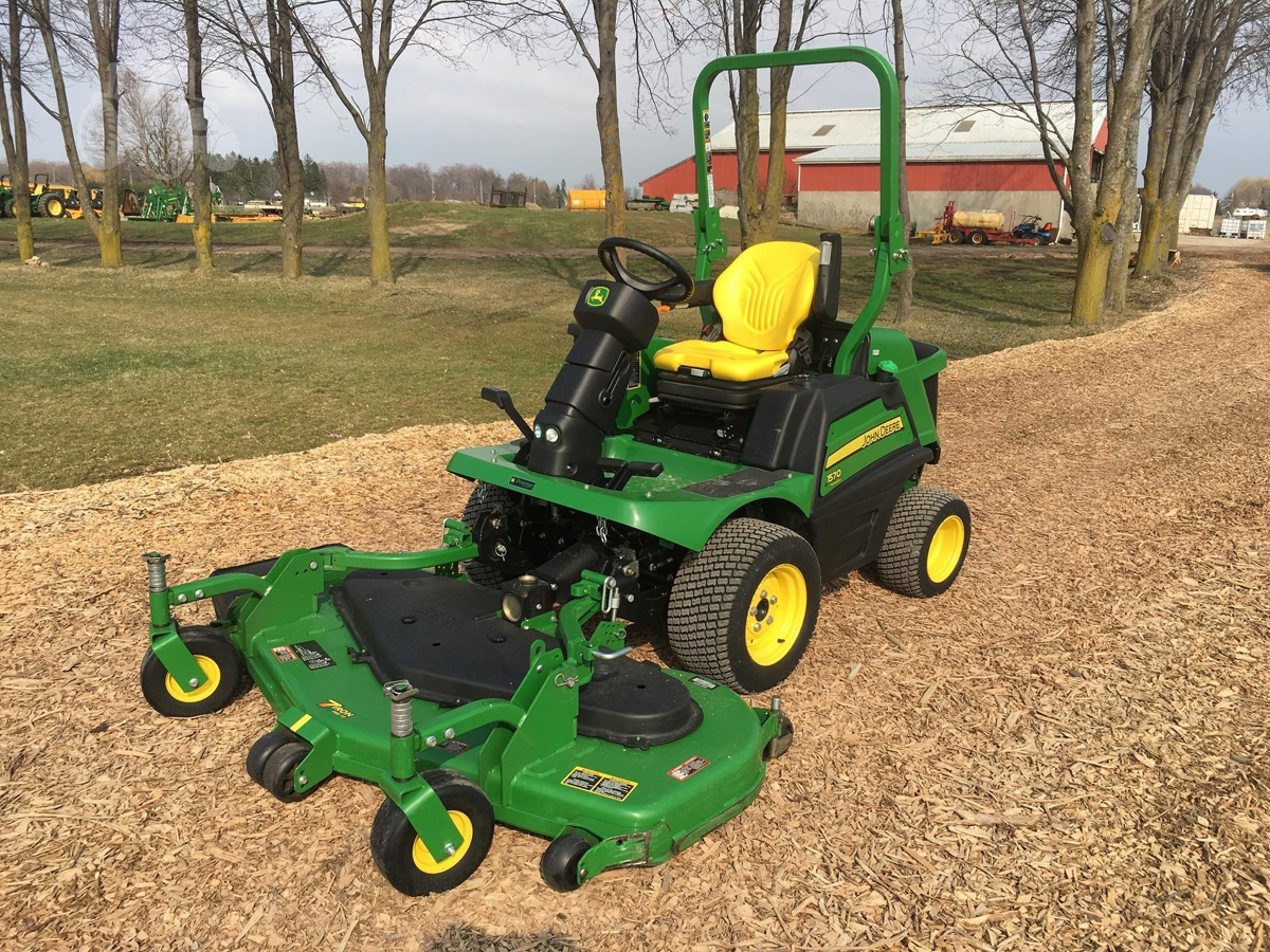 Jd Front Mount Mowers