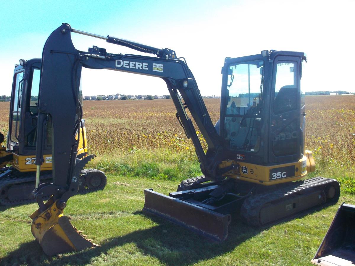 3.5 Ton Excavators